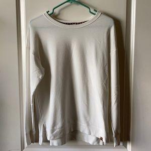 Super Soft White Sweatshirt